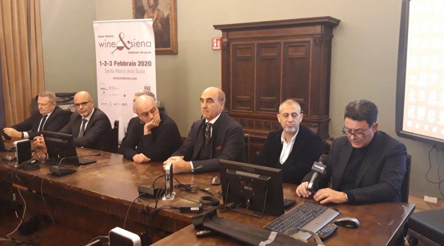 conferenza stampa di conclusione Wine e Siena